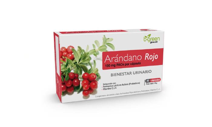 cistitis arandano rojo