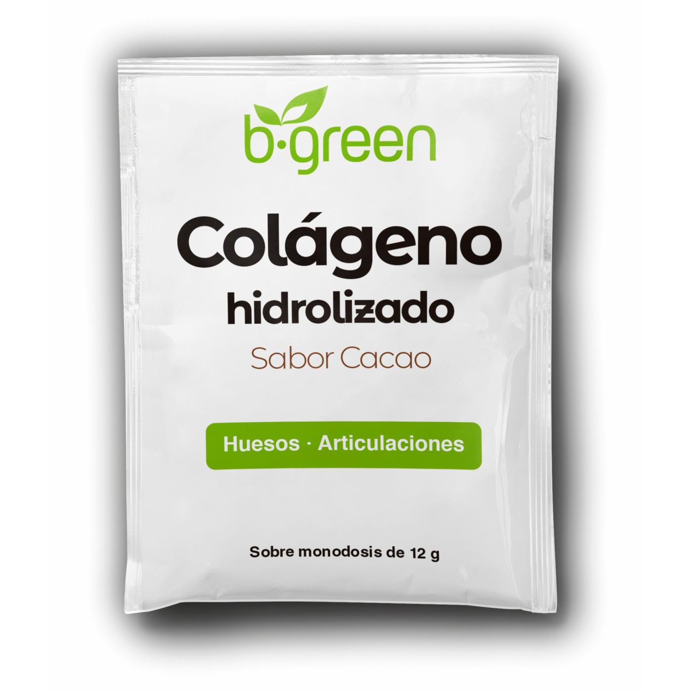 colageno hidrolizado sabor cacao